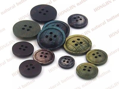 wood button-w45